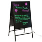 Double-Sided LED Writing Board
