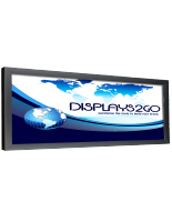 10' x 20' Black Banner Stretching Frame for Large Format Prints