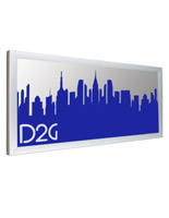 4' x 6' Silver Banner Stretching Frame for Outdoor Use