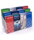 12 Pocket Acrylic Pamphlet Dispenser