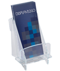 "7.9"" High Clear Acrylic Brochure Tray"