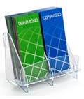 Trade Show Double Brochure Holder