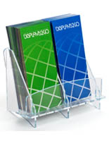 Reception Area Double Brochure Holder