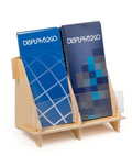 Plywood 2 Pocket Brochure Holder