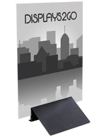 Double-Sided Foam Board Sign Holder