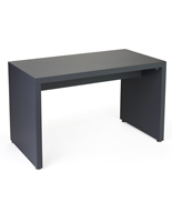 Gray Small Nested Display Retail Table with Floor Levelers