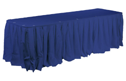 Use these banquet linens for a wedding at a hotel or special events at a restaurant.