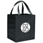 Black Custom Tote Bags with Artwork
