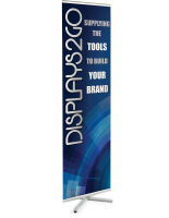 Trade Show Portable Banner Stand with Custom Graphics