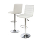 Adjustable Height Bar Stool with Cushioned Seat