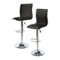 Adjustable Height Bar Chair, Made of Leatherette & Steel