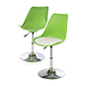 Bar Lounge Chair with Adjustable Height