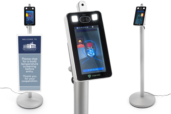No contact body scanner with touchless operation