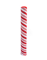 60 inch tall candy cane bollard cover