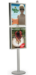floor poster stand