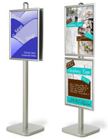 sign display stand