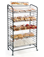 (5) Shelf Bakers Rack