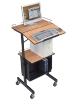 Laptop Presentation Stand with Book Stop