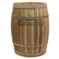 Natural Dry Goods Barrel