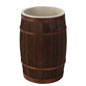 Produce Safe Wooden Food Storage Barrel