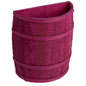 Country Style Magenta Barrel Display