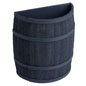 Country Style Navy Blue Barrel Display