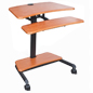 Stand Up Laptop Desk with Ergonomic Design
