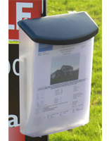 Outdoor Brochure Holders for Real Estate
