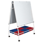 Mobile Lap Board Easel with Wheels