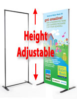 Telescopic Banner Stand
