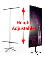 Telescoping Banner Stands