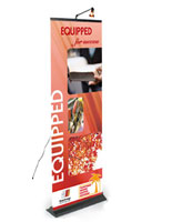 affordable banner stand