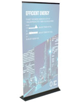 Economy Banner Stand, Portable