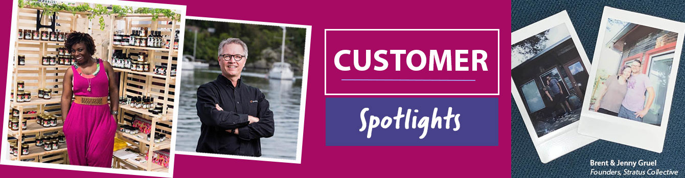 customer spotlight banner
