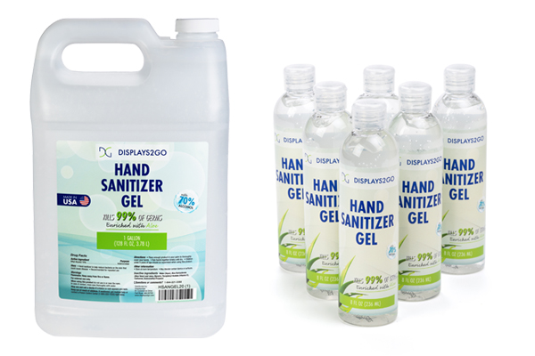 Safe and effective bulk hand sanitizer