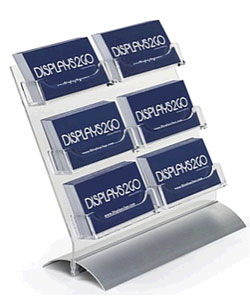 6-Pocket Business Card Display