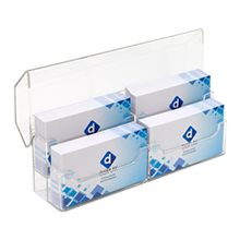 business card holders for trade show