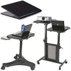 Laptop stands and carts