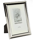 "Small Silver Picture Frame for 5"" x 7"" Photos"