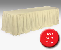 Wedding Table Skirt