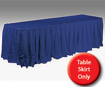 cheap table skirts