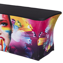Trade Show Table and Tablecloth Sets
