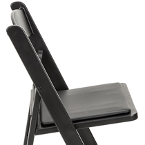 Folding and Stackable Plastic Chairs for Events
