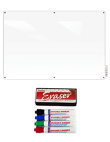 Glass Dry Erase Board from Ghent