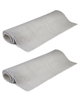 Portable 10' x 10' booth roll carpet