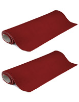 Portable 10' x 10' rollable red carpet
