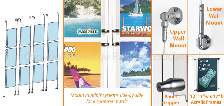 wall mount poster systems