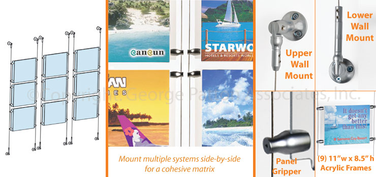 wallmount poster systems