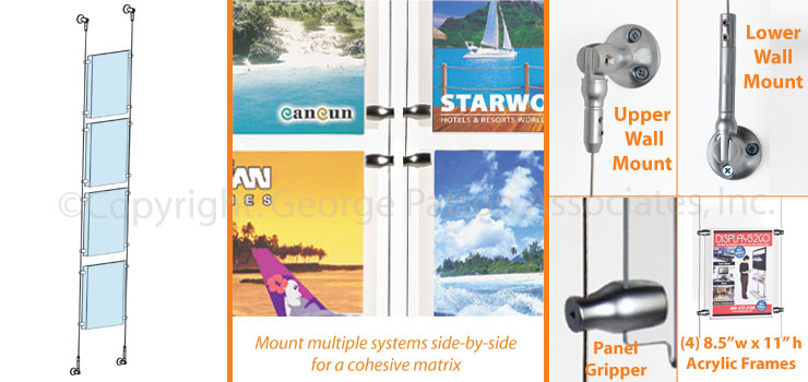 wall mount poster holders