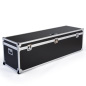Sturdy plywood paneled oversize trade show storage trunk